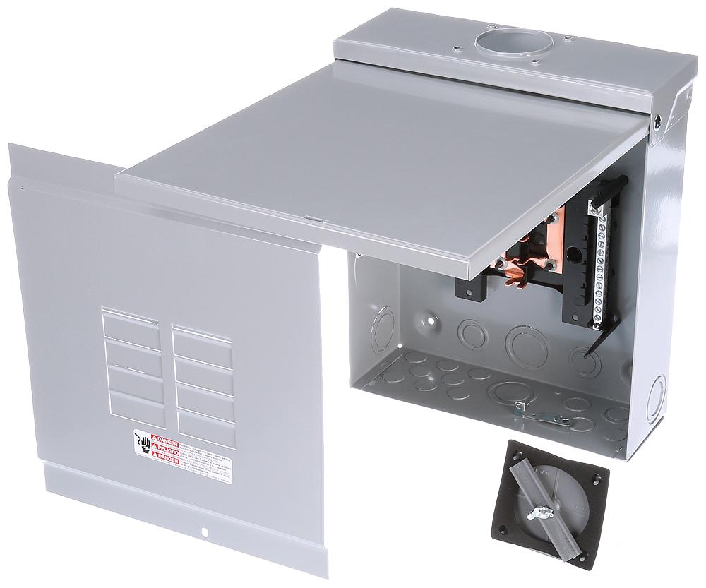 Siemens Industry W0816ML1125CU 120/240 VAC 125 Amp 8-16 Circuit 1-Phase 3-Wire NEMA 3R Main Lug Load Center