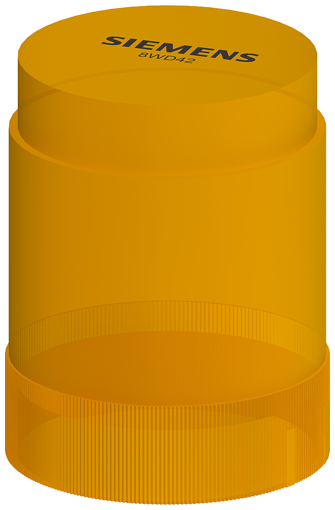 S-A 8WD4200-1AD 50MM,YELLOW,STEADY,