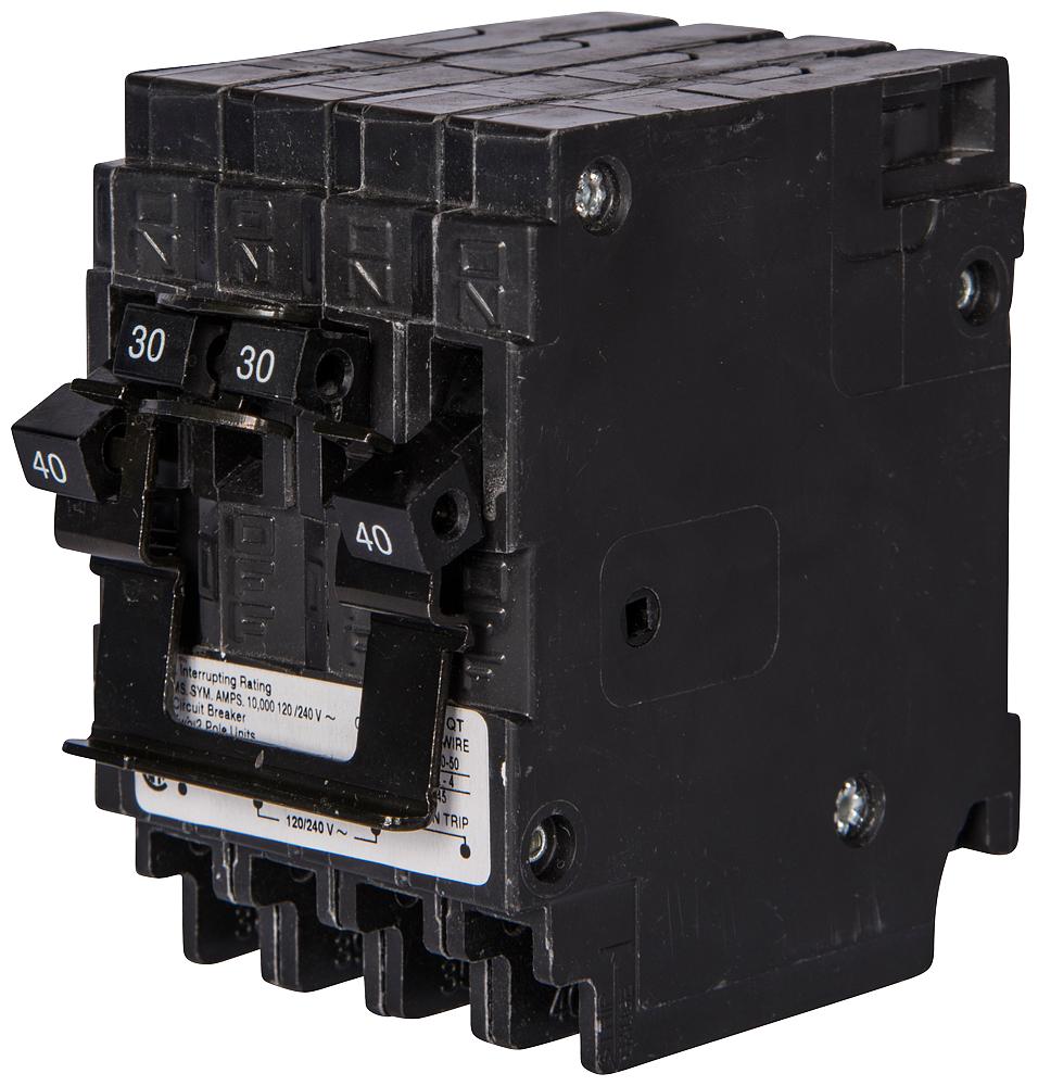 Siemens Industry Q21515CT2 2-Pole 15 Amp 120/240 VAC 10 kA Circuit Breaker