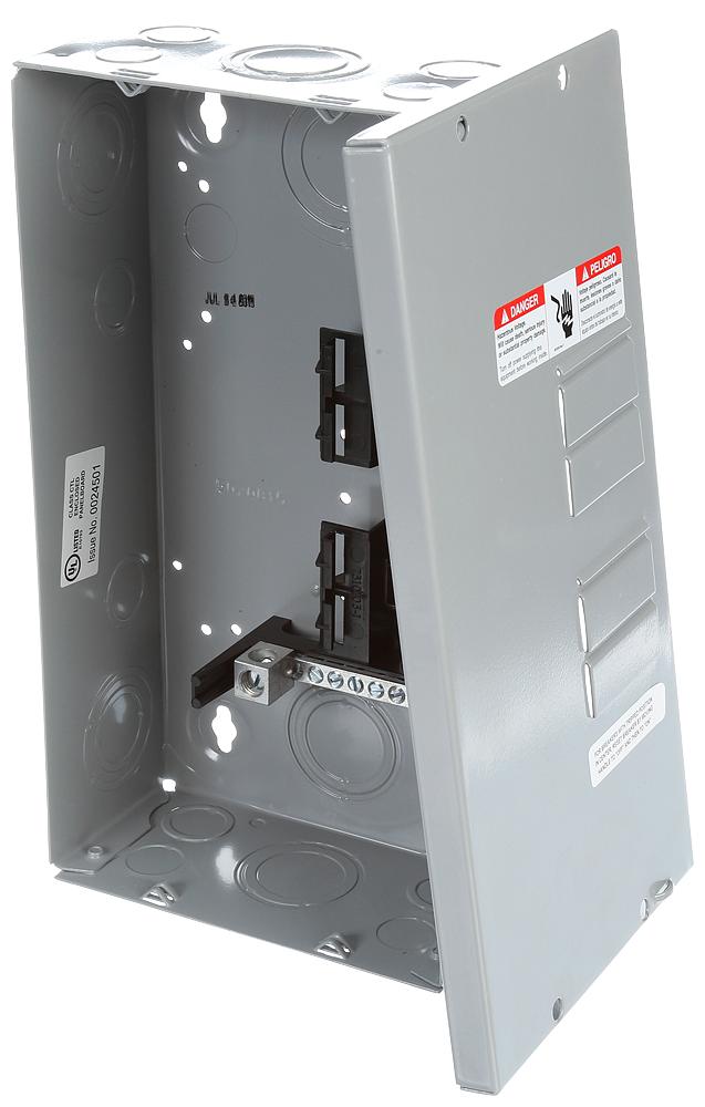 Siemens Industry E0408ML1125S 120/240 VAC 125 Amp 1-Phase 3-Wire NEMA 1 Main Lug Load Center
