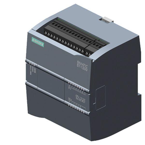Siemens Industry 6ES72121HE400XB0 DC/DC/Relay 8 DI/6 DO/2 AI 1212C CPU
