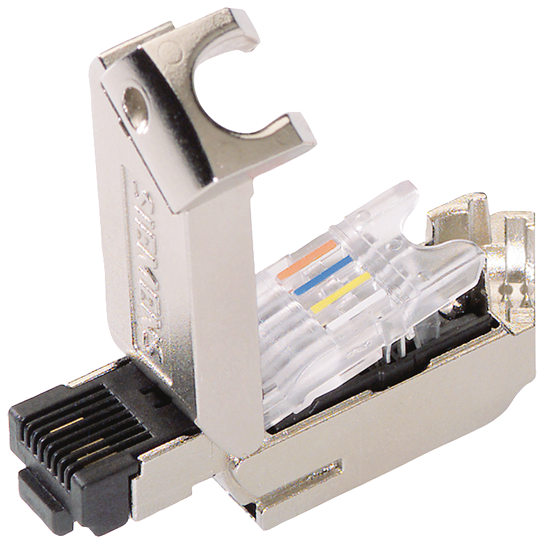 Siemens Industry 6GK19011BB300AA0 145 Degrees Cable Outlet Category 5 RJ45 Plug Connector