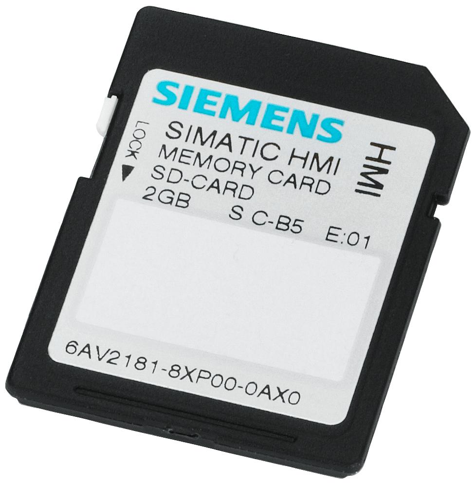 SIMATIC HMI MEMORY CARD,2 G,COMFORT PANL