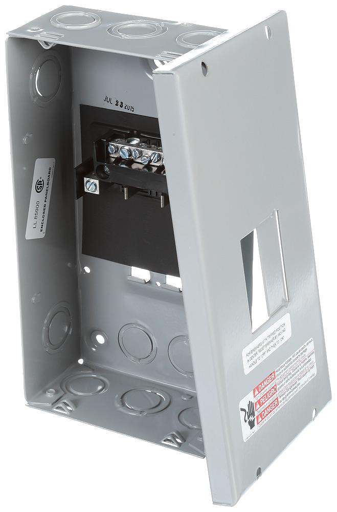 Siemens Industry E0204ML1060S 120/240 VAC 60 Amp 2-4 Circuit 1-Phase 3-Wire NEMA 1 Main Lug Load Center