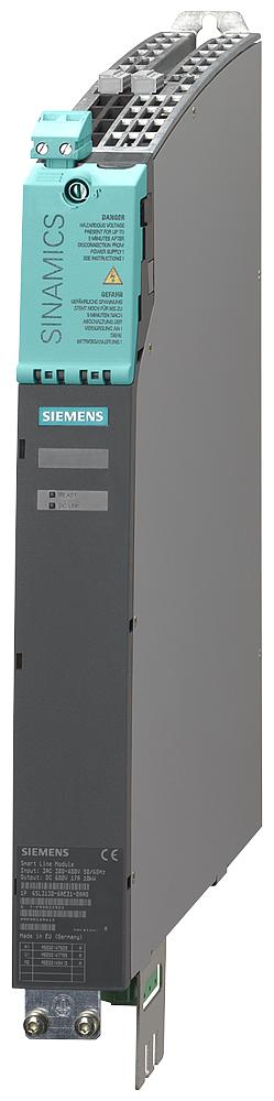 Siemens Industry 6SL31306AE150AB1 5 kW 380 to 480 Volt 50/60 Hz 600 VDC 8.3 Amp Internal Air Cooling Line Module