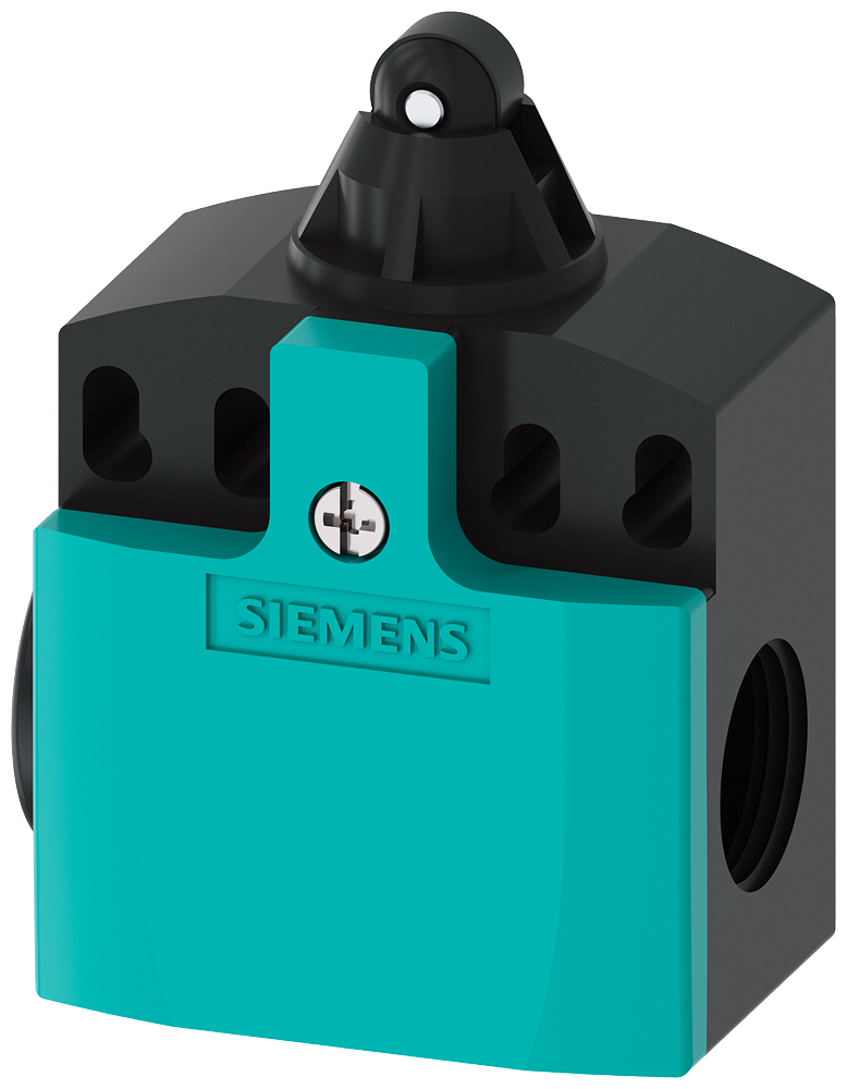 Siemens Industry 3SE52420HD03 M20 x 1.5 Plastic 1NO 1NC Snap Action Roller Plunger Limit Switch