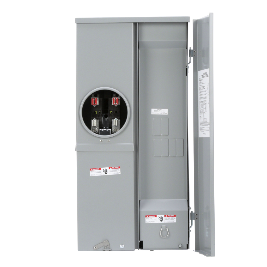 Siemens Industry MM0406L1200ESC 120/208/240 Volt 1-Phase 3-Wire Aluminum Meter Main Breaker
