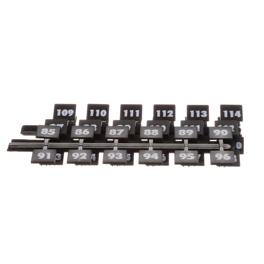 Siemens Industry NBK5 Legend 85 to 126 Panelboard Number Strip