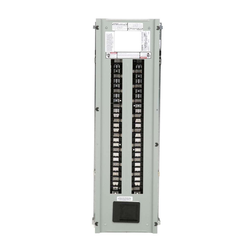 Siemens Industry P1E54MC250CT 480 Star/277 Volt 250 Amp 3-Phase 4-Wire Copper Bus Convertible Main Panelboard Interior