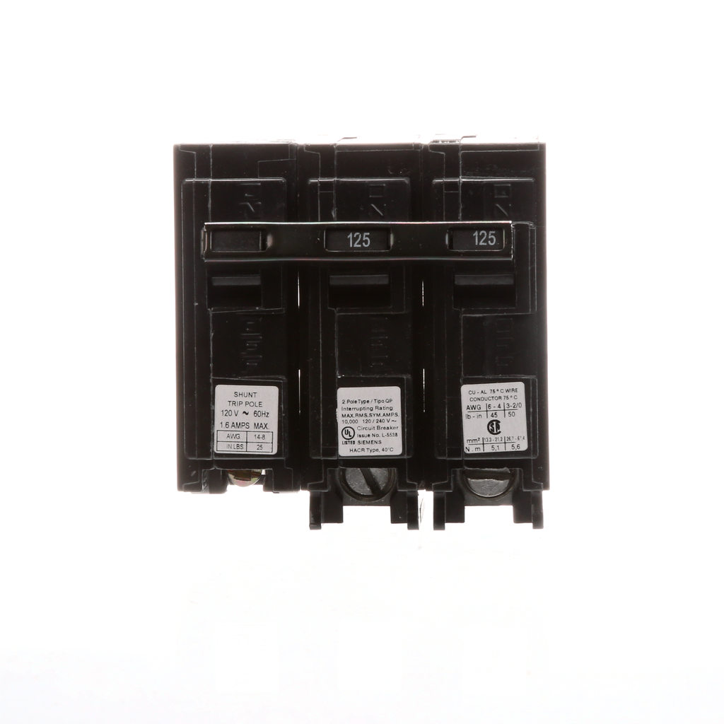 S-A Q212500S01 BREAKER 125A 2P 120/