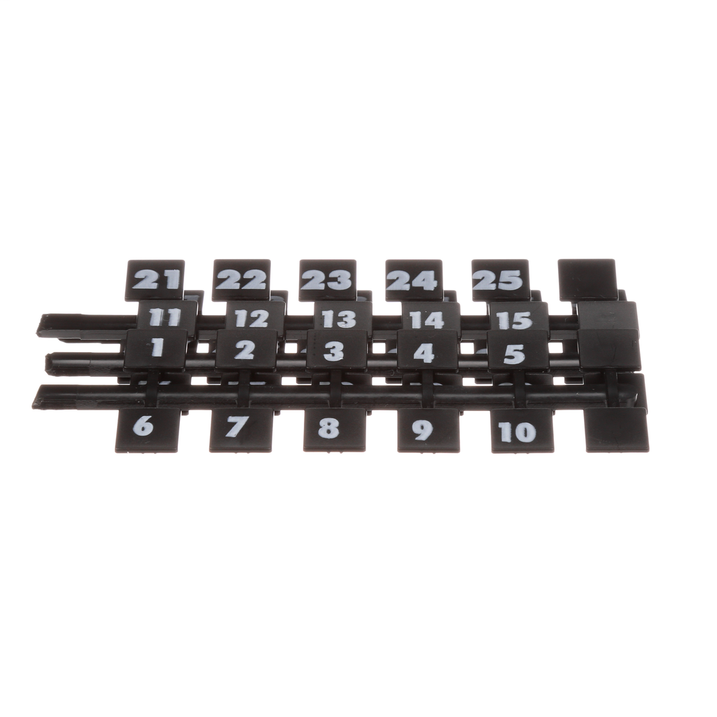 Siemens Industry NBK3 130/Box Legend 1 to 42 Panelboard Number Strip