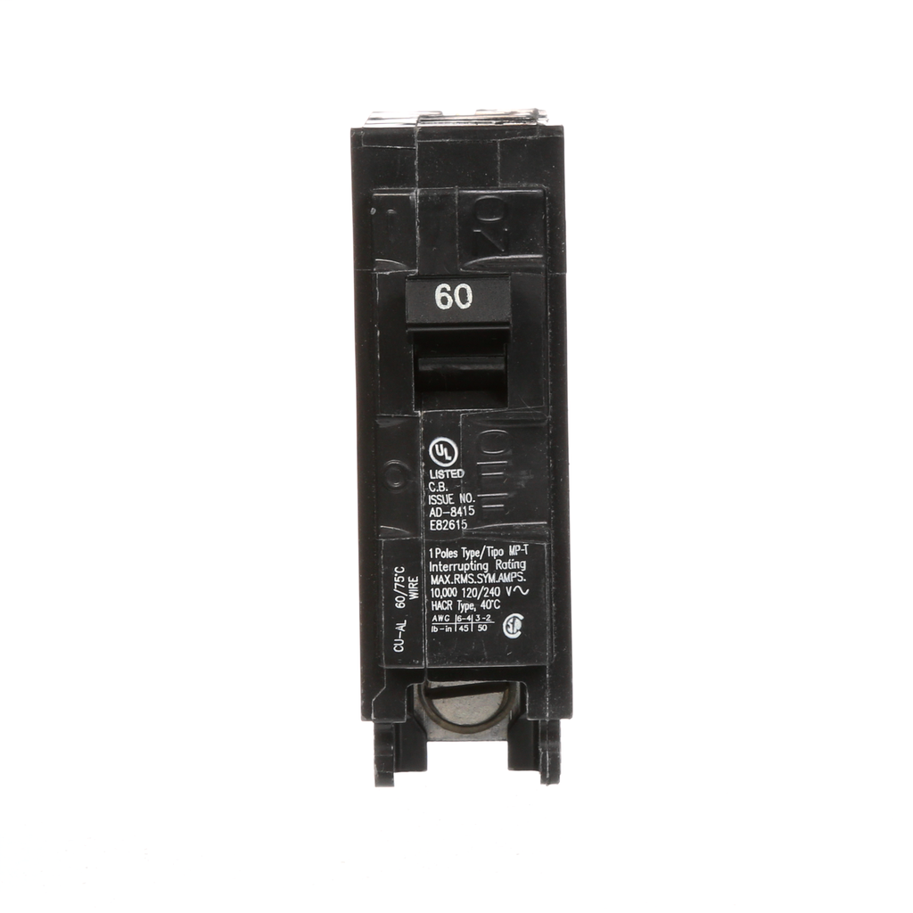 S-A MP160 BREAKER 60A 1P 120V 10K M