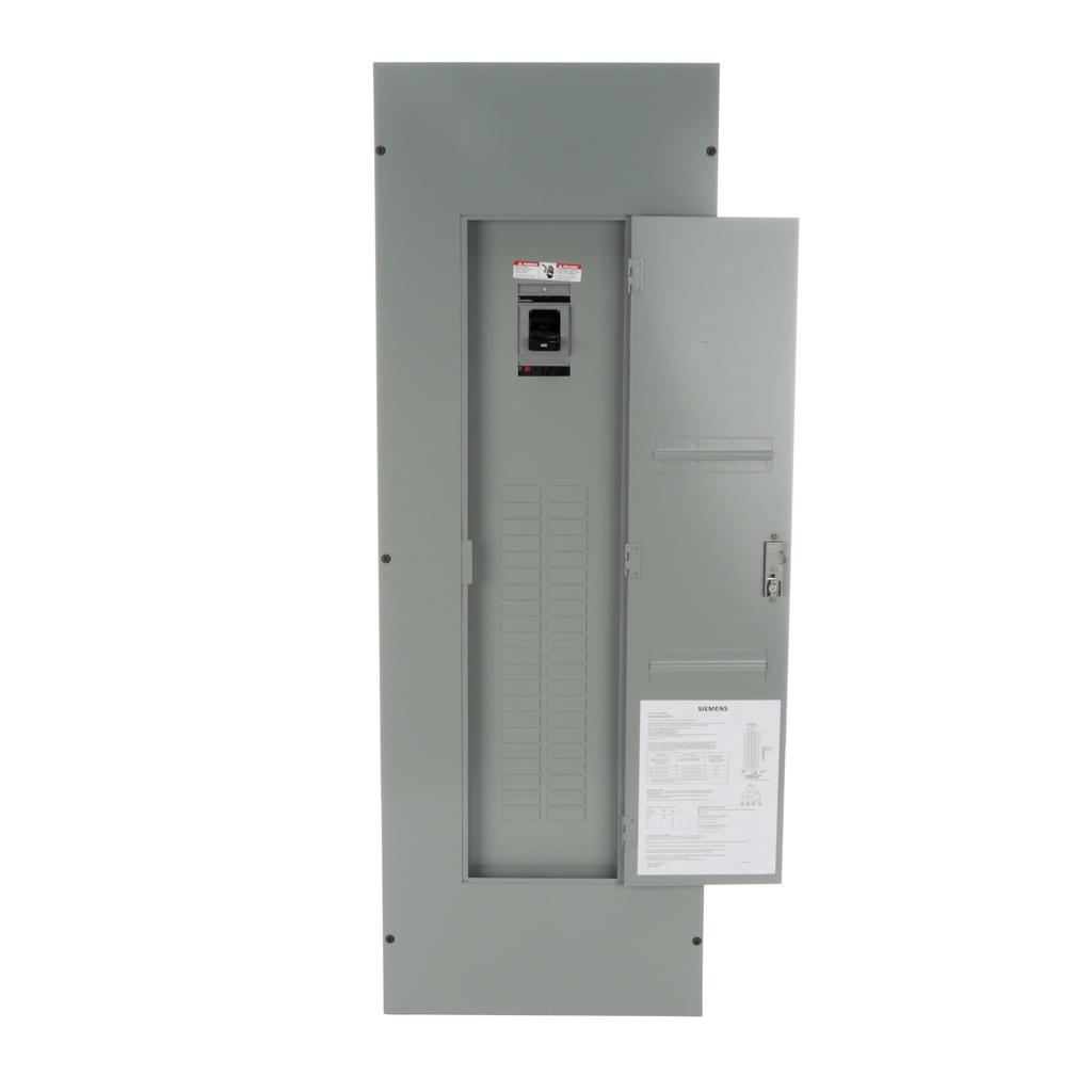 Siemens Industry E4242MB3400SCU 120/208/240 VAC 400 Amp 3-Phase 3/4-Wire NEMA 1 Main Breaker Load Center