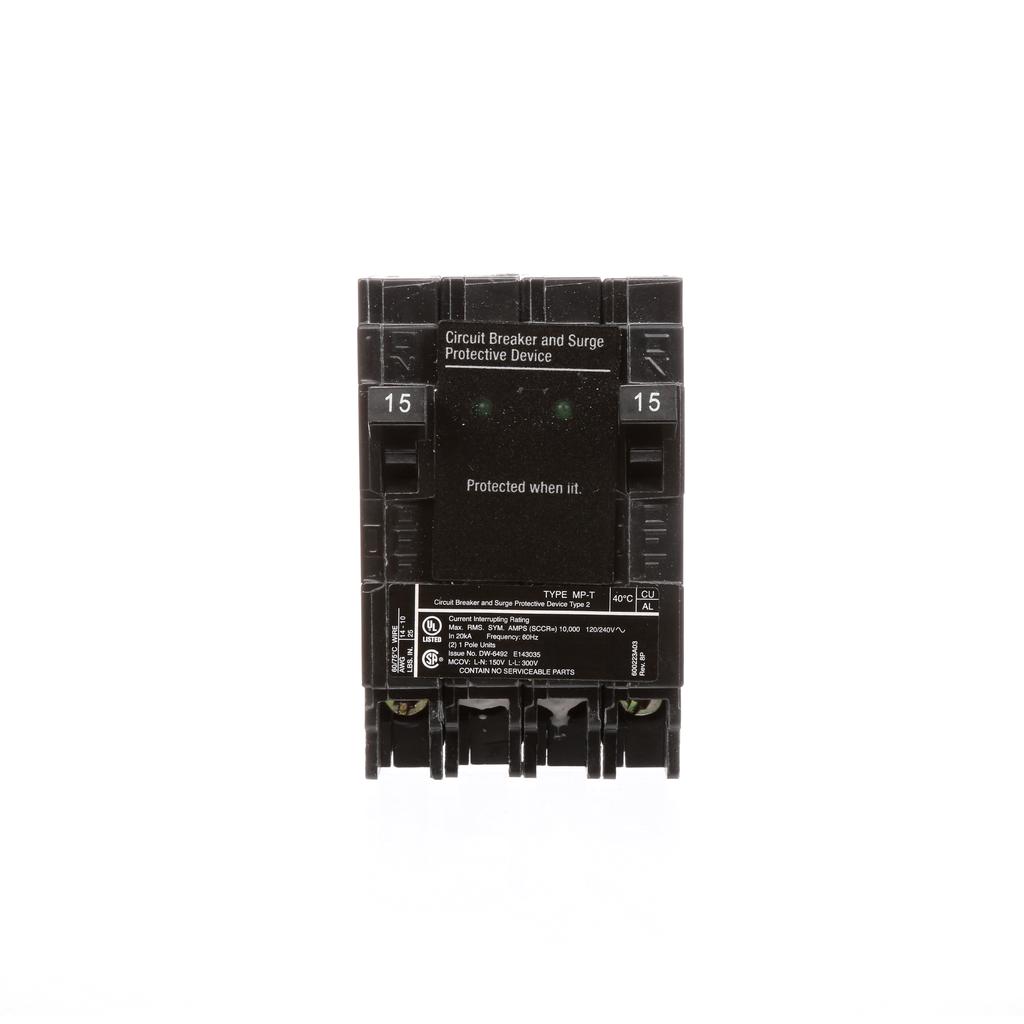 S-A MSA1515SPD SURGE (2)15A 1P 120V