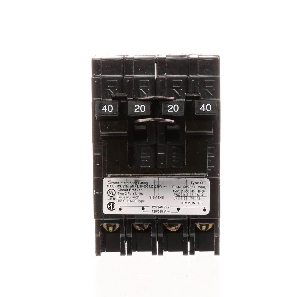 S-A Q24020CT2NC BREAKER(1)40A 2P/(1