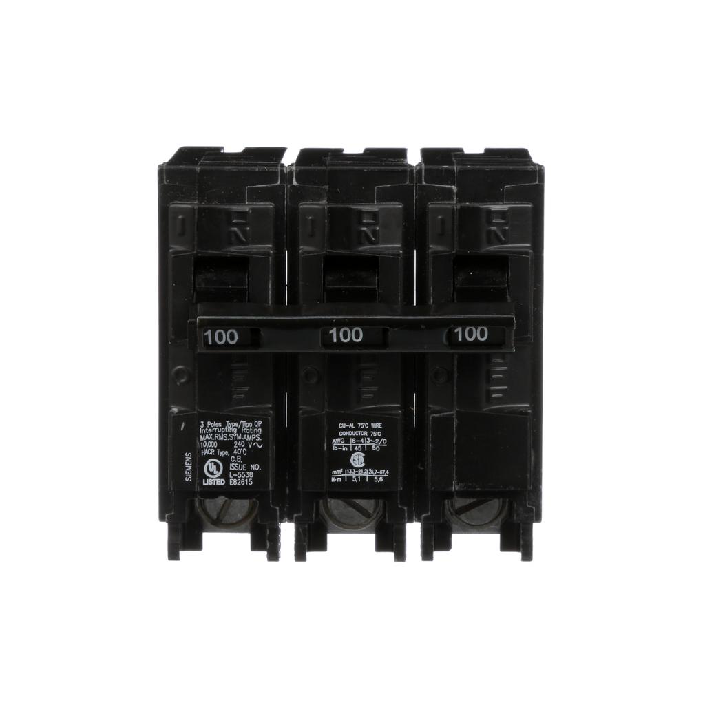 Siemens Industry MBK3100 240 Volt 100 Amp 3-Phase 10 kA Load Center Main Breaker Kit