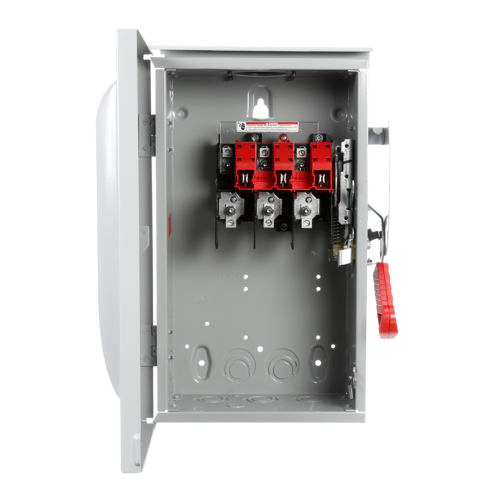 Siemens Industry HNF362R 240/480/600 VAC 250/600 VDC 60 Amp 3-Pole 3-Wire NEMA 3R Heavy Duty Non-Fusible Safety Switch