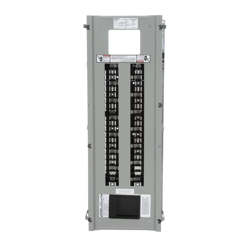 Siemens Industry P1E42MC250AT 480 Star/277 Volt 250 Amp 3-Phase 4-Wire Aluminum Bus Convertible Main Panelboard Interior