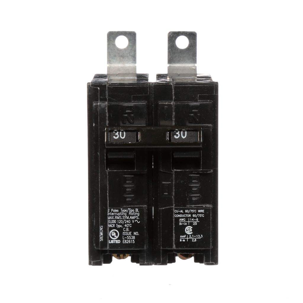 Siemens B230 30 Amp 120/240 Volt 2-Pole Circuit Breaker