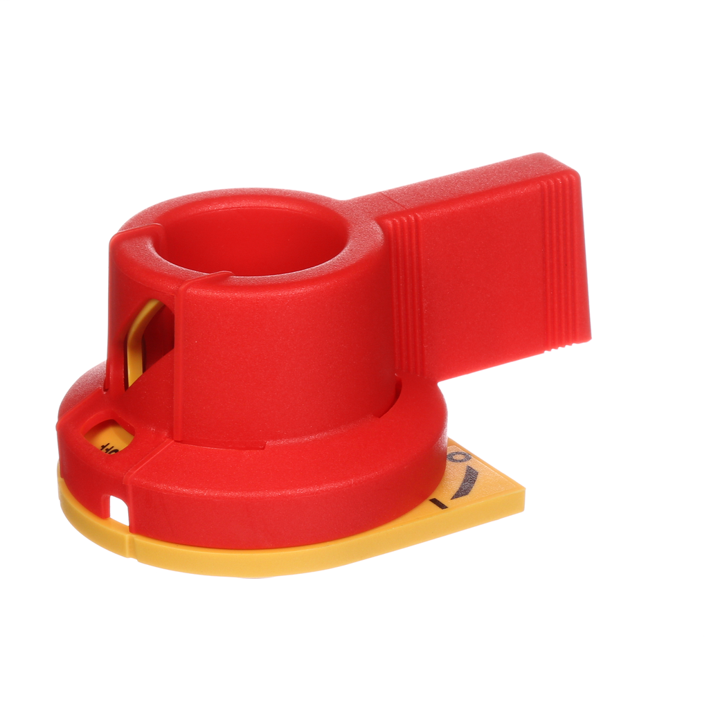 Siemens Industry CFSH5R12 5 mm 30 Amp Yellow/Red Fusible Switch Rotary Operating Handle