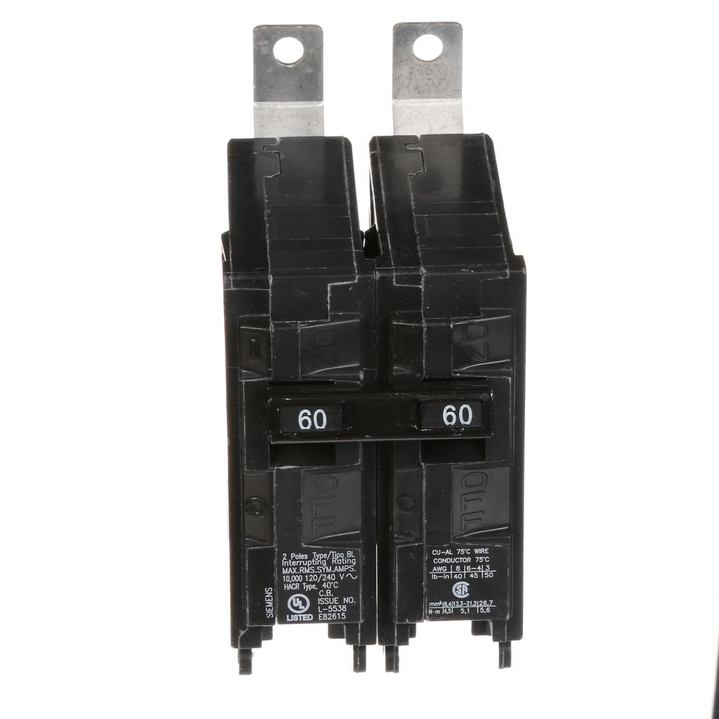 ITE SIEMENS BL B260 60 amp 2 pole 240V Circuit Breaker