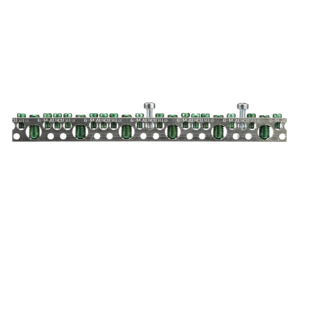 Siemens Industry EGK 44-Terminal Aluminum Panelboard Ground Bus Kit