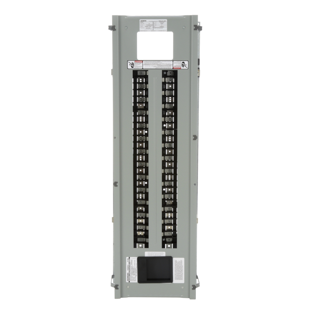 Siemens Industry P1A54MC250AT 120/240 Volt 250 Amp 1-Phase 3-Wire Aluminum Bus Convertible Main Panelboard Interior