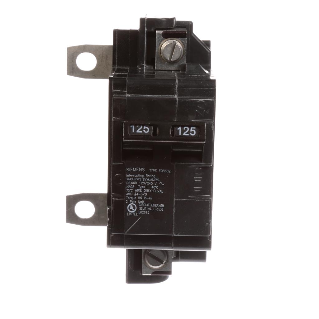 Siemens Industry MBK125A 2-Pole 125 Amp 120/240 Volt Main Circuit Breaker