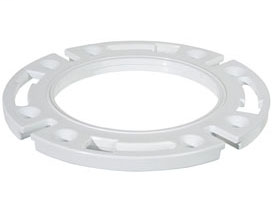 """886-R 7/16"""" thick closet flange extension ring Raise-A-Ring™"""