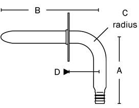 630X148E PowerPEX® ASTM F1807 No Lead Stub Out Elbow Square O Strap