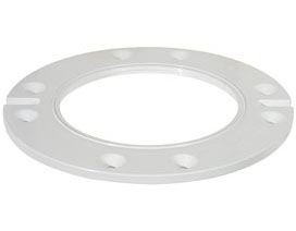 """886-RQ 1/4"""" thick closet flange extension ring Raise-A-Ring™"""