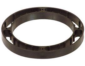 """886-ER 3/4"""" closet flange spacer ring QuickSpacer™"""