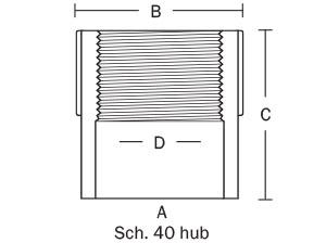 842-73P Standard Adapter
