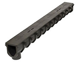 865-S1 Sloped Channel Section W/ Construction Cover FastTrack™