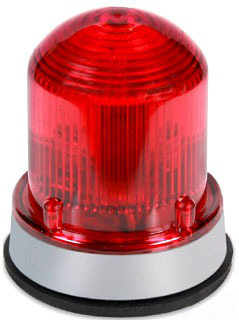 EDW 125STRNR1248D 12-48V RED STROBE