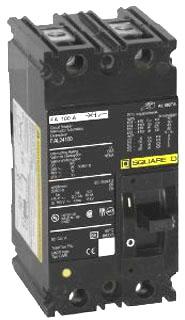 SQD FAL24025 25A 480V MOLDED CASE CIRCUIT