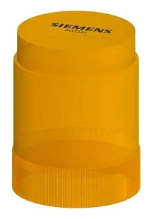 SIEM 8WD4240-5BD 50MM,YELLOW,FLASHING,115V AC/DC,IP54