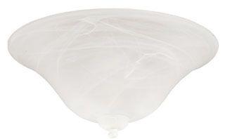EMN LK52 GLASS BOWL ALABASTER SWIRL