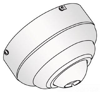 SEG 1631-15 FLUSH MOUNT CANOPY WHITE W/CHR