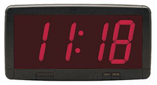 EDW 1900MS12-24 DIGITAL NTWRK CLOCK