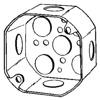 NEER 4OD-1/2 4X2-1/8D OCT BOX