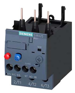 SIEM 3RU21264AB0 OVERLOAD RELAY CL10 S0 11-16A SCREW
