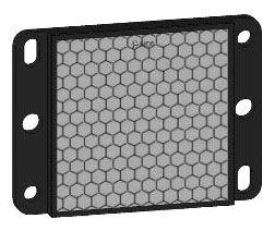SQD XUZC50 50X50MM REFLECTOR