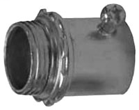 "GED 4050S 1/2"" STEEL SET-SCREW EMT CONNECTOR"