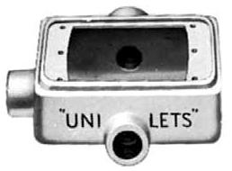 APP FST-1-50 CAST DEV BOX SGL GANG 1/2 IN