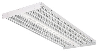 LITH IBZ632WD I-BEAM 6LAMP T8 FLUOR HIGH BAY WIDE DIST FIXTURE