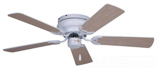 "EMN CF804SWW 42"" 3 SPD CL FAN HUGGER SNUGGER"