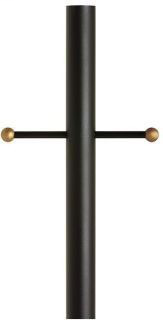 SEG 8105-12 BLACK ALUMINUM POST