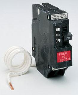GEIL THQL1120GF THQL 1 POLE 120V 10K IC 20 AMP GFCI