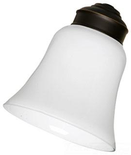 EMN CFGW1 WHITE GLASS ( 4 PER SET )
